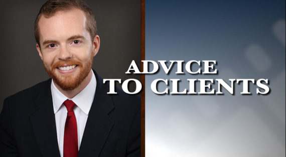 Graphic of Minnesota Bankruptcy Attorney Bennett Hartz with the words Advice To Clients