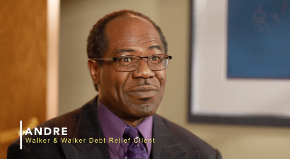 Andre, Walker and Walker Debt Relief Client